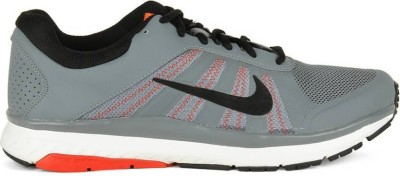 Nike DART 12 MSL Running Shoes For Men(Grey, Black, Red)