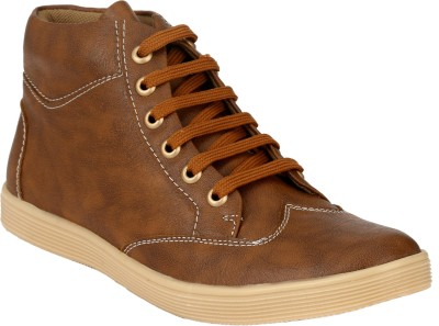 Troy Boots For Men(Brown)  available at flipkart for Rs.249