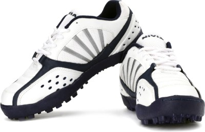 Nivia Caribbean Cricket Shoes For Men(Blue, White)  available at flipkart for Rs.959