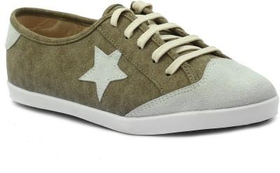 Shuberry Sneakers(Olive) at flipkart