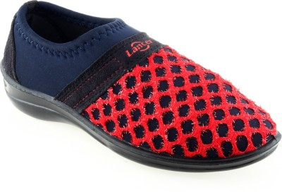 Lancer Casual Shoes For Women(Blue, Red)  available at flipkart for Rs.369