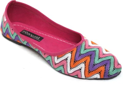 Royal Indian Exposures Bellies For Women(Multicolor)