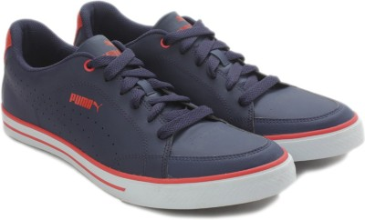 Puma Court Point Vulc IDP Sneakers For Men(Blue, Red)