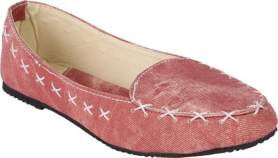 Authentic Vogue Loafers For Women(Pink)