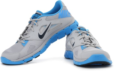 1be40585613d Nike 599558-001 Men Grey And Blue Flex Supreme Tr 2 Sports Shoes- Price in  India