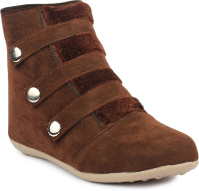 Moonwalk Boots For Women(Brown)