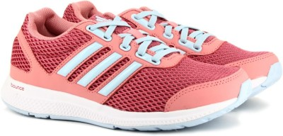 Adidas MANA BOUNCE J RUNNING(Pink) at flipkart