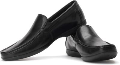 Clarks Finer Sun Men Genuine Leather Slip On Shoes For Men(Black)
