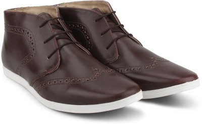 Knotty Derby Knicker Brogue Casuals For Men(Brown)