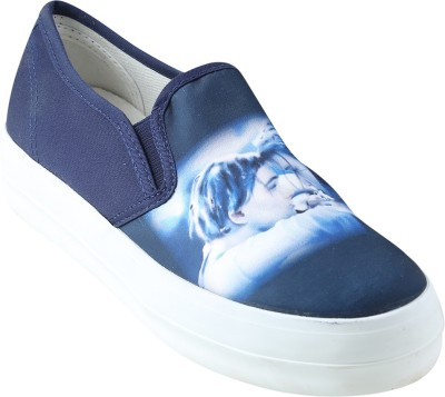 Go India Store Sneakers For Women(Blue)