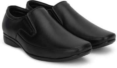 Provogue Slip on Shoes(Black)