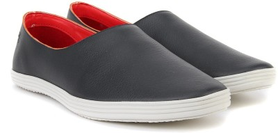 Peter England PE Loafers(Black) at flipkart