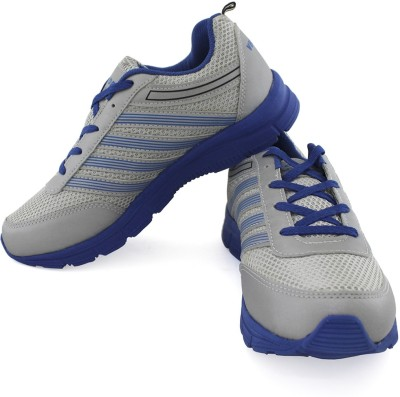 Vector X Sports Shoes For Men(Grey, Blue)  available at flipkart for Rs.499