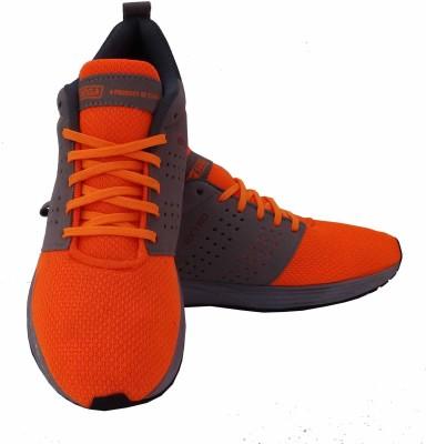 info for 7d9da 13ca8 SEGA Extro Running Shoes For Men(Orange, Grey)