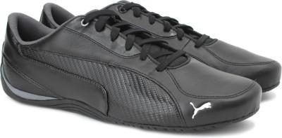 Puma Drift Cat 5 Carbon Sneakers For Men(Black) at flipkart