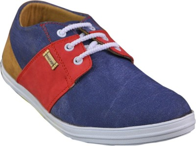 Adjoin Steps Multi Colour Casual Shoe(Blue)