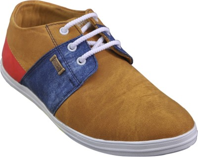 Adjoin Steps Multi Colour Casual Shoe(Beige)