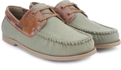 Polo Assn Men Boat Shoes For Men(Green