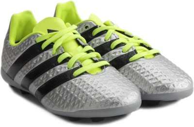 ADIDAS Ace 16.4 Fxg J Football Shoes For Men Silver