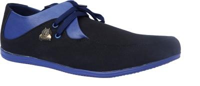 Sukun 9057_BKB Casual Shoes For Men(Black, Blue)  available at flipkart for Rs.349