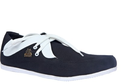 Sukun 9057_BKW Casual Shoes For Men(Black, White)  available at flipkart for Rs.999