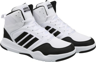 43% OFF on ADIDAS NEO CLOUDFOAM REWIND MID Sneakers For Men(White) on Flipkart |