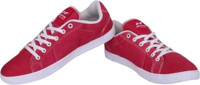 Nivia Rumble Canvas Shoes For Men(Pink) at flipkart