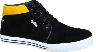 Sukun BFL_009_BKY Casual Shoes For Men(Black, Yellow)  available at flipkart for Rs.999