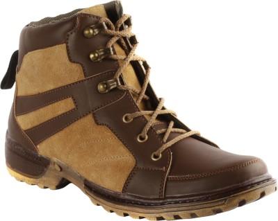 Bacca Bucci Tan Man Boots For Men(Brown, Tan) at flipkart