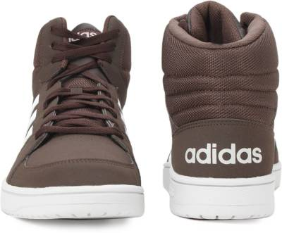 adidas neo Hoops Mid K weiß Synthetik cooler