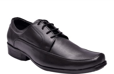 Hirel's Mens Lace Up Shoes For Men(Black)  available at flipkart for Rs.349