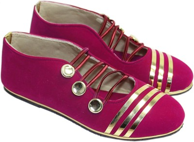 Stellar Collections Monk Strap For Women(Pink)