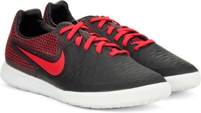 Nike MAGISTAX FINALE IC Football Shoes For Men(Black, Red) 1