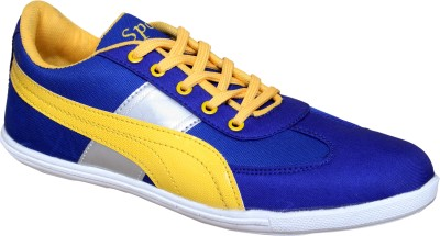Sukun PP_783_BLY Casual Shoes For Men(Blue, Yellow)  available at flipkart for Rs.399