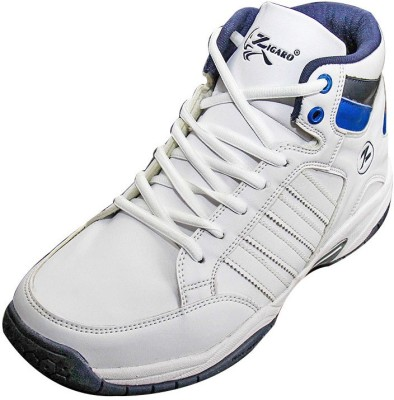 Zigaro Basketball Shoes For Men White Zigaro Sports Shoes