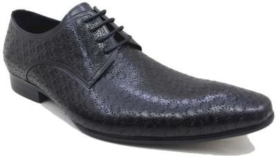 Froskie Genuine Leather Formal Shoes Derby For Men(Black) at flipkart