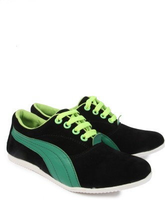 American Cult ZWS155BLACKGREEN Casual Shoes(Green)