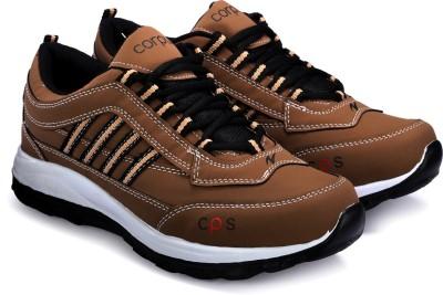 Corpus Density Running Shoes For Men(Brown)  available at flipkart for Rs.479