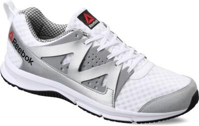 REEBOK SUPREME RUN Running Shoes For Men(Black, White, Wht/met sil/flat grey/blk