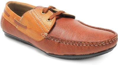 Alec Tyrus Stun Boat Shoes For Men(Tan)