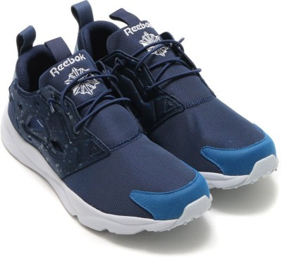 3bf8b8e78e707 42% OFF on Reebok FURYLITE SP Running Shoes For Men(Navy) on Flipkart