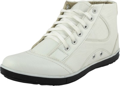Belly Ballot Men's White Stylish Casual, Party Wear Sneakers Casuals For Women(White)