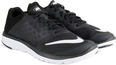 Nike FS LITE RUN Running Shoes For Men(Black, White) 1
