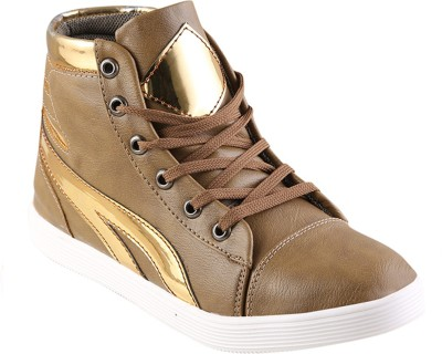 Go India Store Canvas Shoes For Men(Brown)