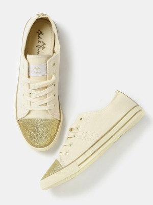 Mast & Harbour Sneakers For Women(Beige) at flipkart
