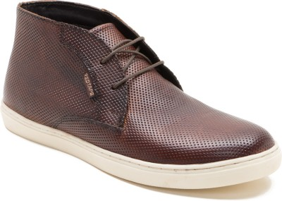 Red Tape RTR1392 Boots(Brown) at flipkart