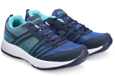 Corpus Density Running Shoes For Men(Black, Blue)  available at flipkart for Rs.479