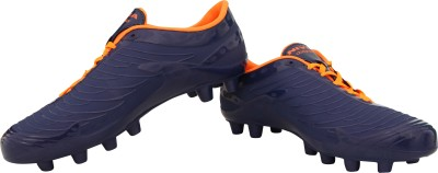 Nivia Dominator Football Shoes For Men(Blue, Orange)