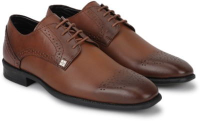 Swiss Military Lace Up Shoes(Tan) at flipkart