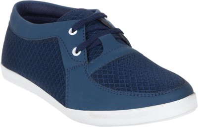 Wings Canvas Shoes For Men Navy Wings Casual Shoes